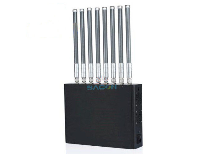 40w High Power Wifi Signal Jammer , Wifi Jamming Device For Walkie Talkie